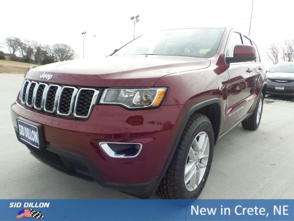 2018 Jeep Grand Cherokee Laredo With Navigation 4WD