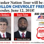 The Husker Nation Tour Banner