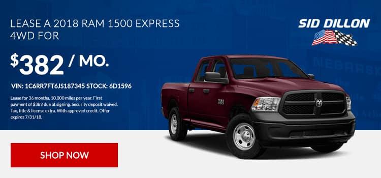2018 Ram 1500 Express 4WD