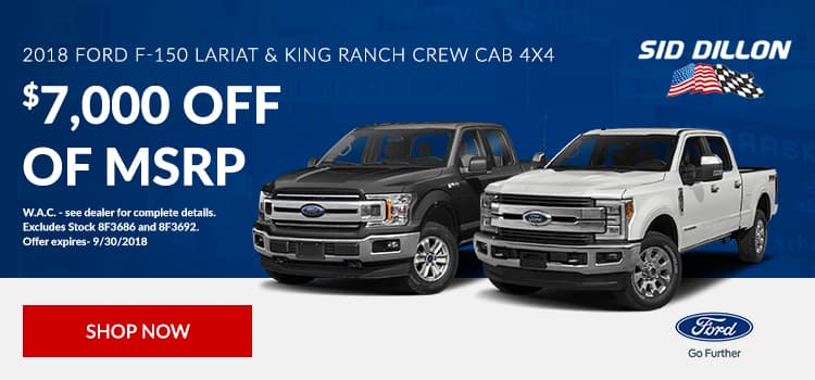 2018 Ford Lariat and King Ranch Crew Cab