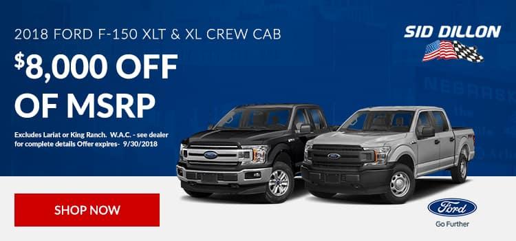 2018 Ford F-150 XLT & XL