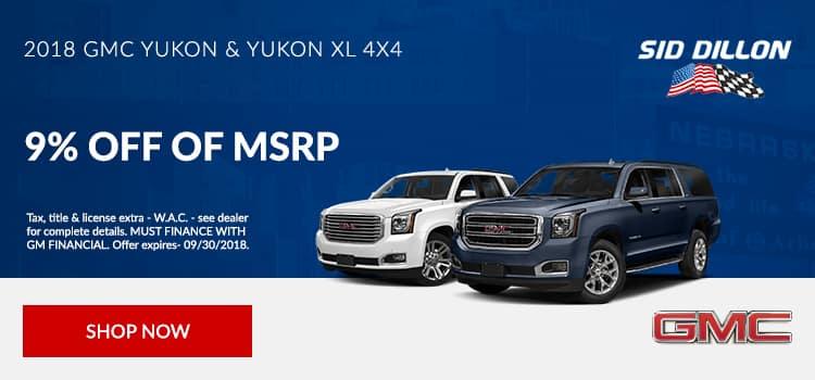 2018 GMC Yukon & Yukon XL