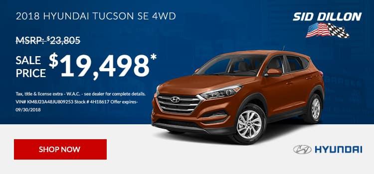 2018 Hyundai Tucson SE FWD