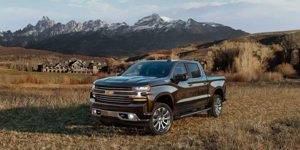 2019 Chevrolet Silverado 1500 mountains