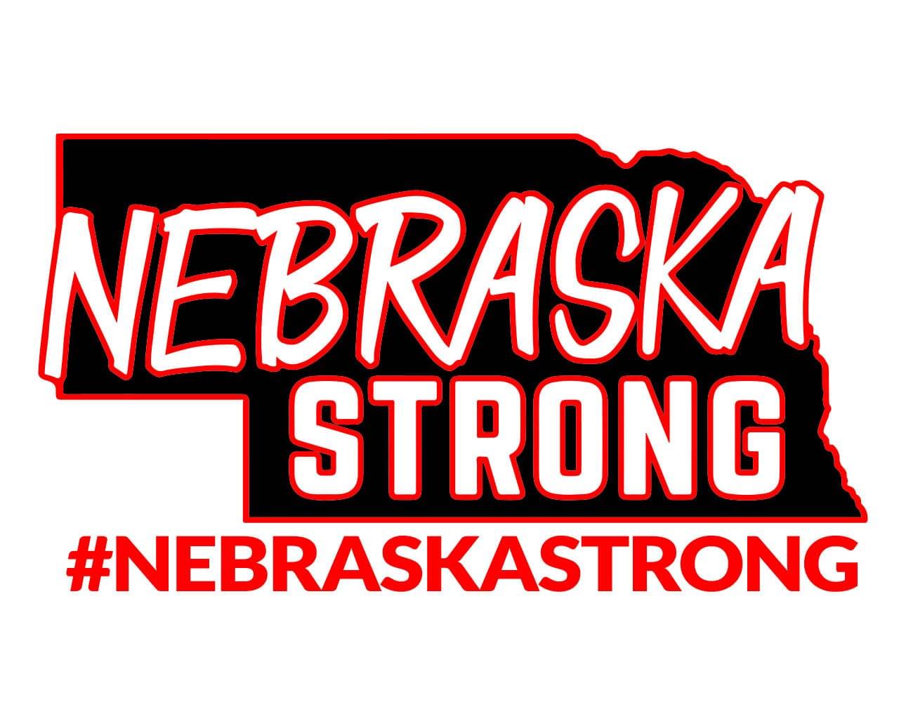 Nebraska Strong 1280 logo 2019