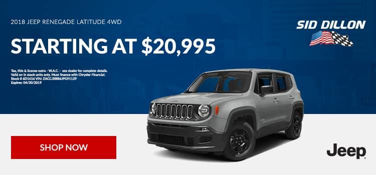 2018 Jeep Renegade Latitude 4WD