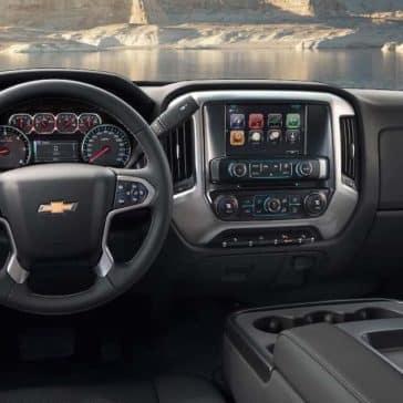 2019 Chevy Silverado 2500 Dash