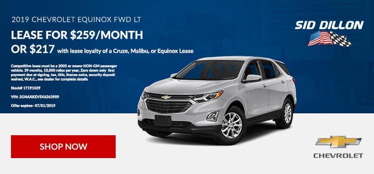 2019 Chevrolet Equinox FWD LT