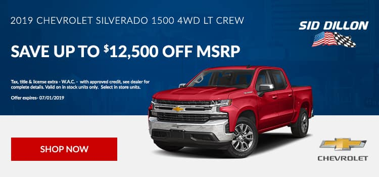 2019 Chevrolet Silverado 1500 4WD LT Crew