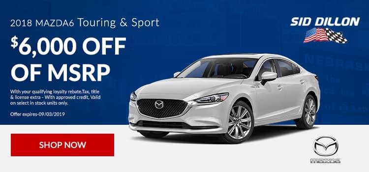 Mazda6 Touring & Sport