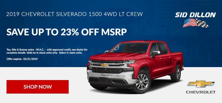 2019 Chevrolet Silverado 1500 Crew