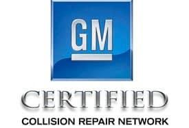 gm certified collision repair logo