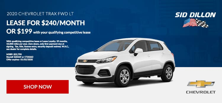 2020 Chevy Trax Lease