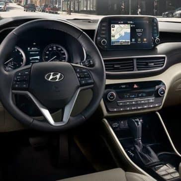 2020 Hyundai Tucson Dash