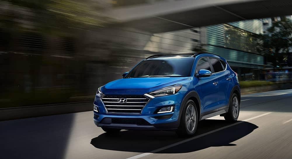 2020 Hyundai Tucson Driving