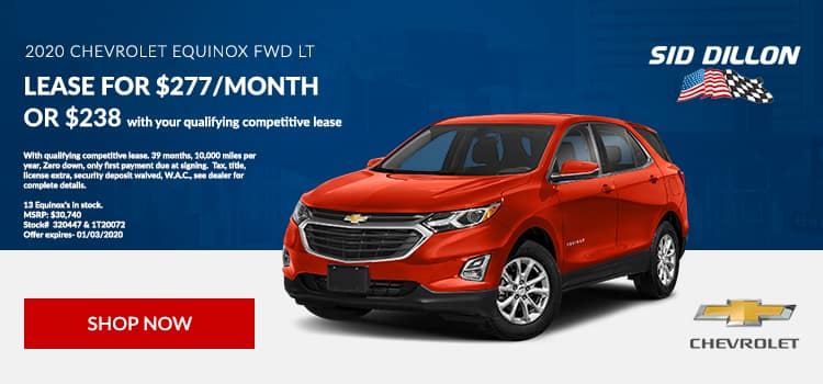 2020 Chevy Equinox Lease