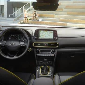 2020 Hyundai Kona Dash