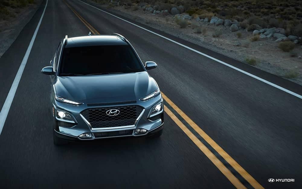 2020 Hyundai Kona Driving