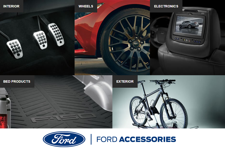 Find Ford Accessories