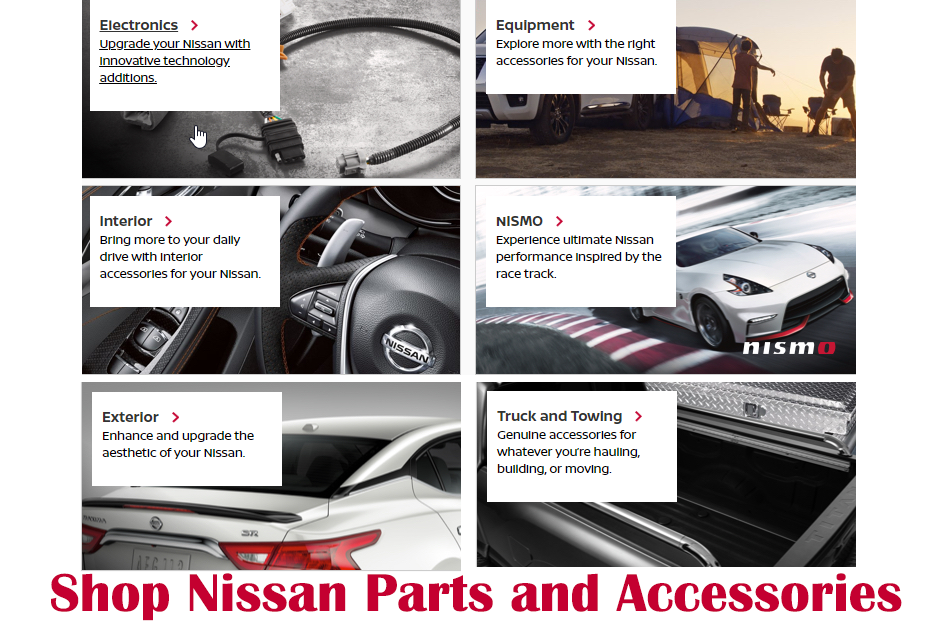 Nissan Accessories and Parts