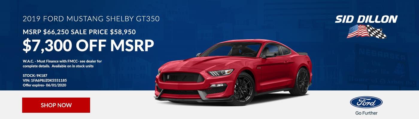 52019 Ford MustangSLIDER