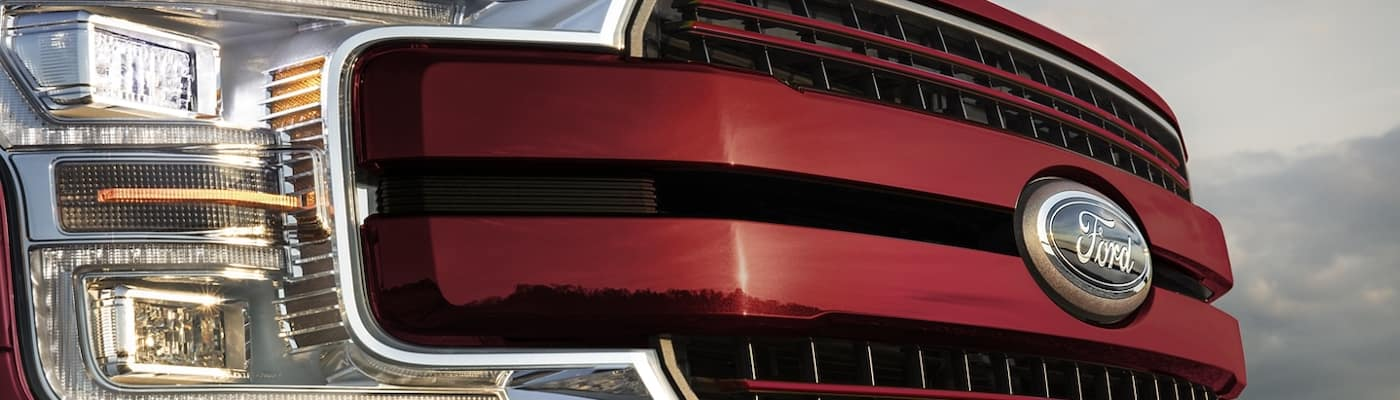 2020 Ford F-150 grille
