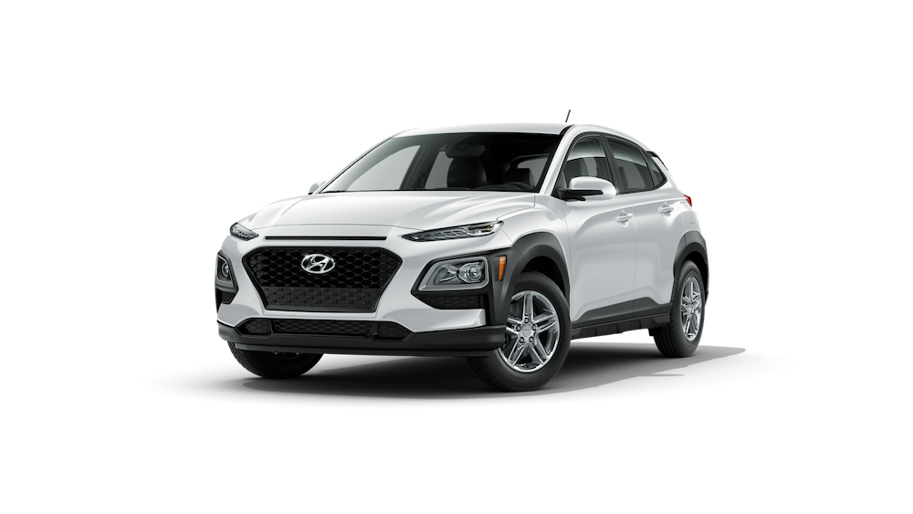 2020 Hyundai Kona in Chalk White