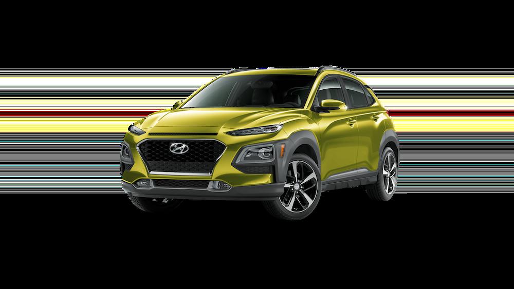 2020 Hyundai Kona in Lime Twist