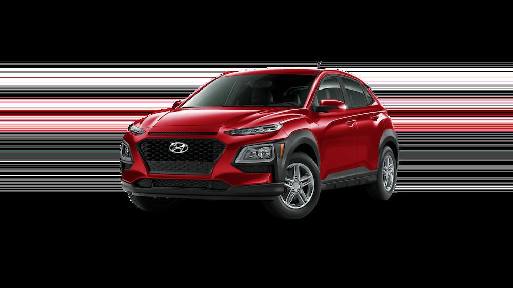 2020 Hyundai Kona in Pulse Red