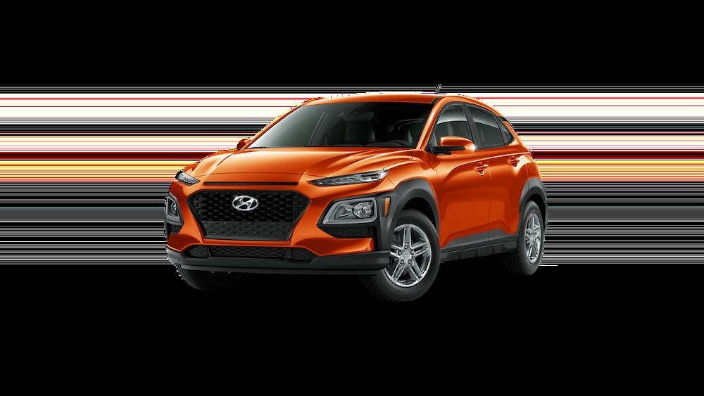2020 Hyundai Kona in Sunset Orange