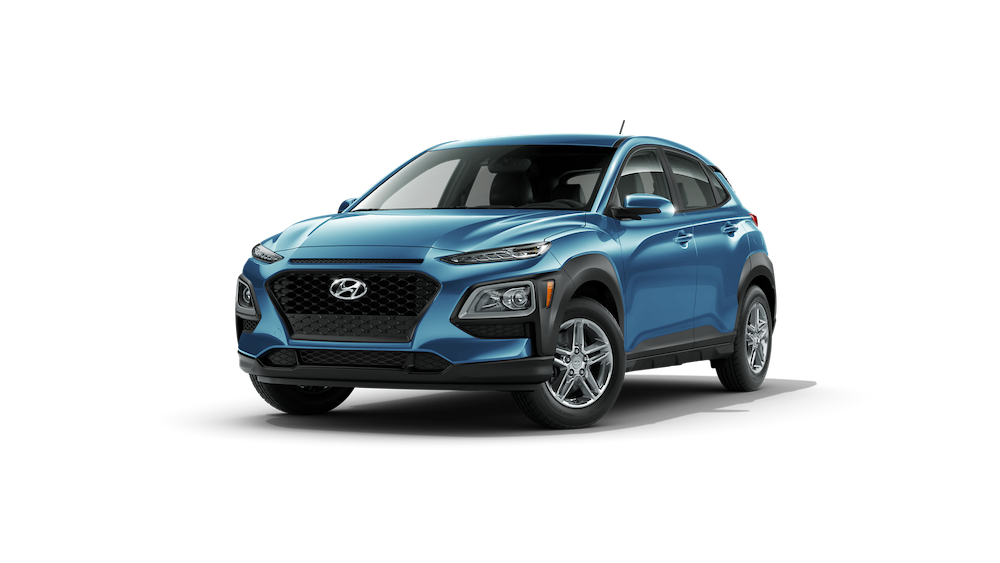 2020 Hyundai Kona in Surf Blue