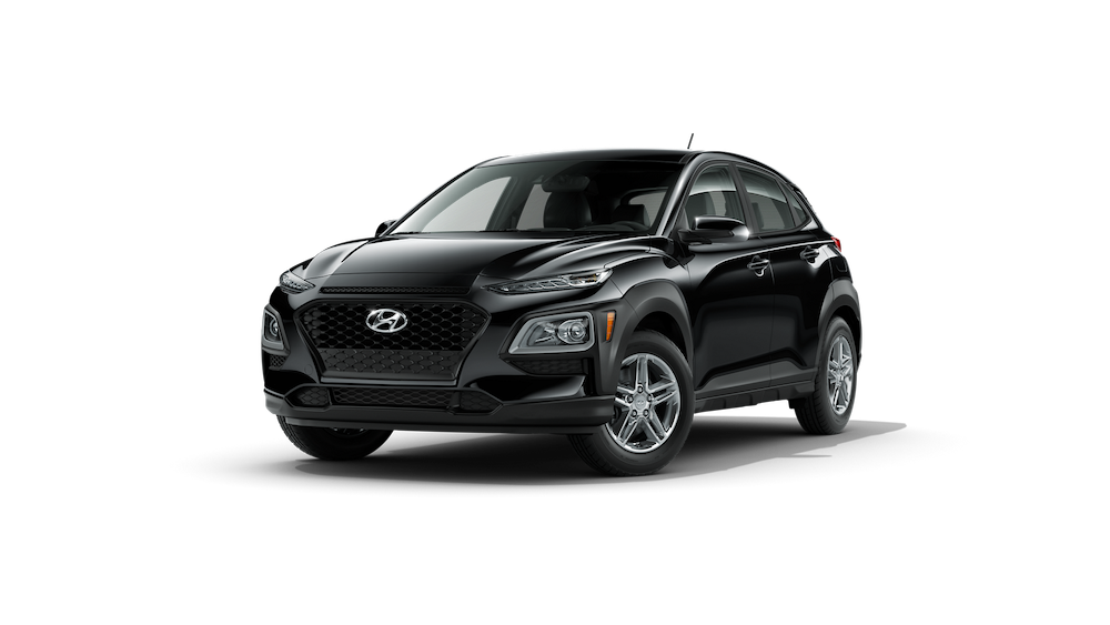 2020 Hyundai Kona in Ultra Black