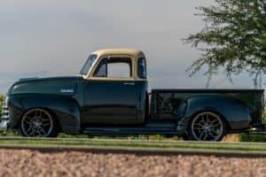 blair body shop 53 chevy truck