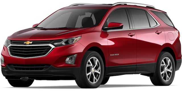 2020 Chevrolet Equinox in Cajun Red Tintcoat