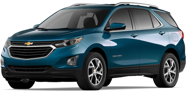 2020 Chevrolet Equinox in Pacific Blue Metallic