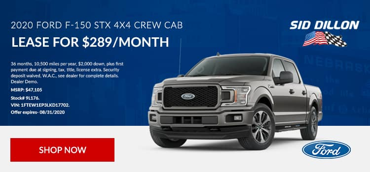 2020 F-150 Lease