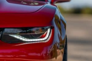 auto body shop blair camaro headlight