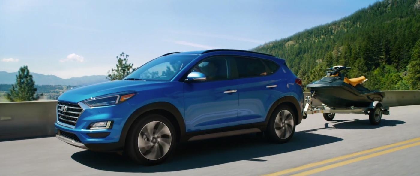 2021 Hyundai Tucson Towing