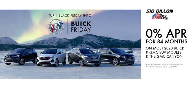 0% Buick & GMC's
