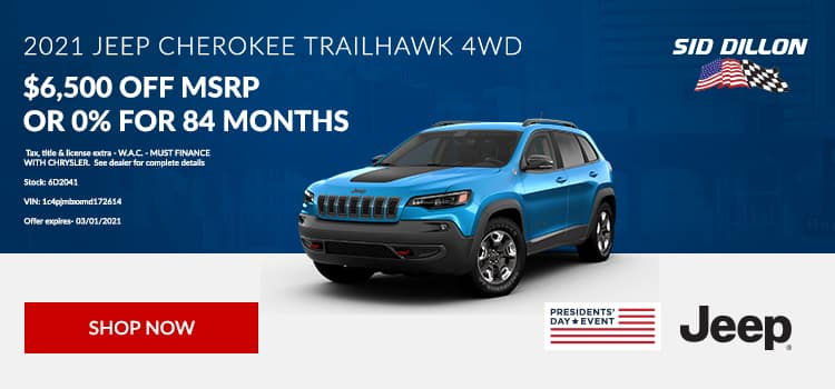 2021 Jeep Cherokee Trail Hawk