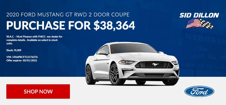 2020 Ford Mustang GT RWD 2 Door Coupe
