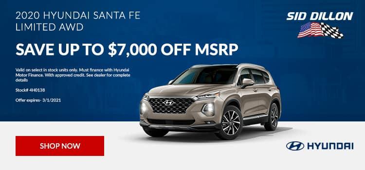 2020 Santa Fe Limited