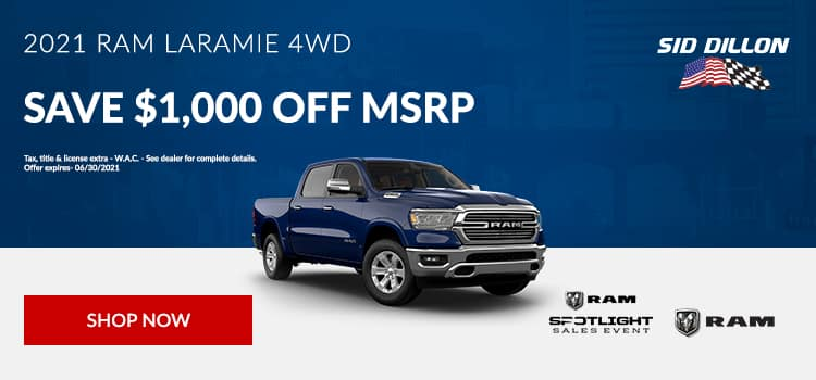2021 RAM Laramie 4WD