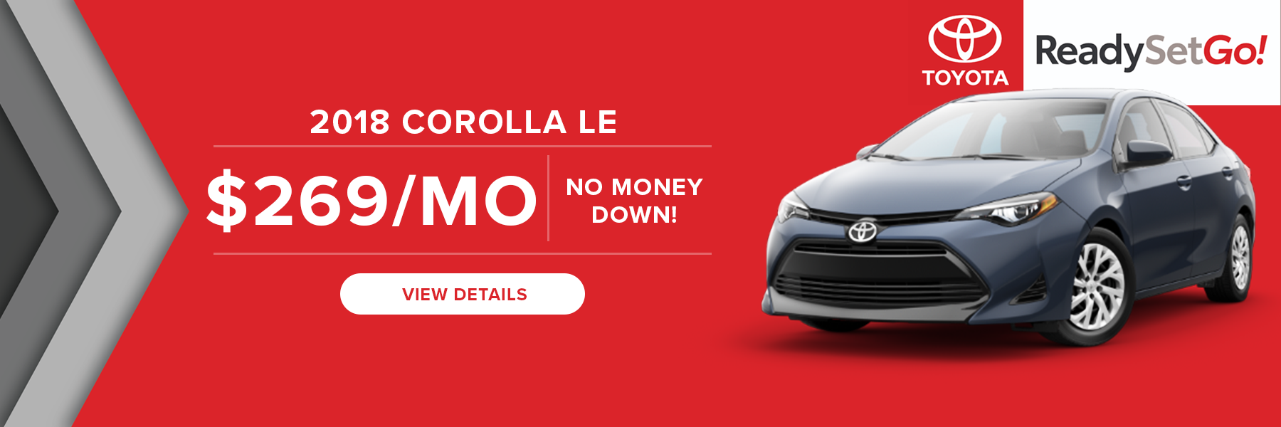 Stadium Toyota Corolla $0 Down Lease Offer
