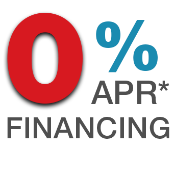0% APR - Up to 60 months