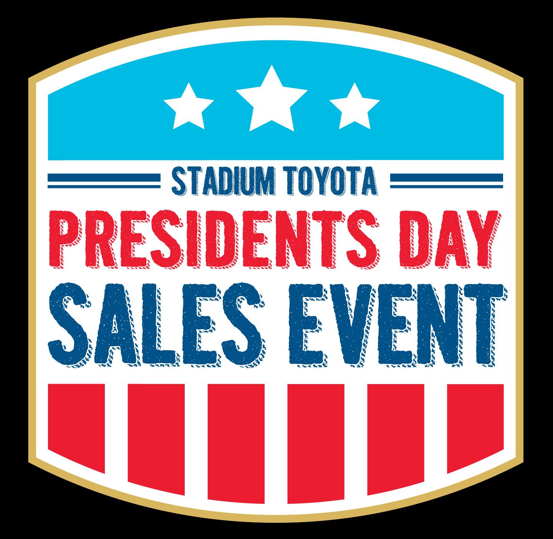 Stadium Toyota President's Day Sales Event