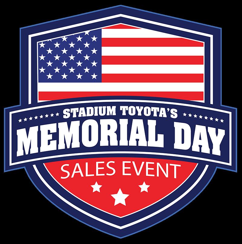 Stadium Toyota Memorial Day Sales Event