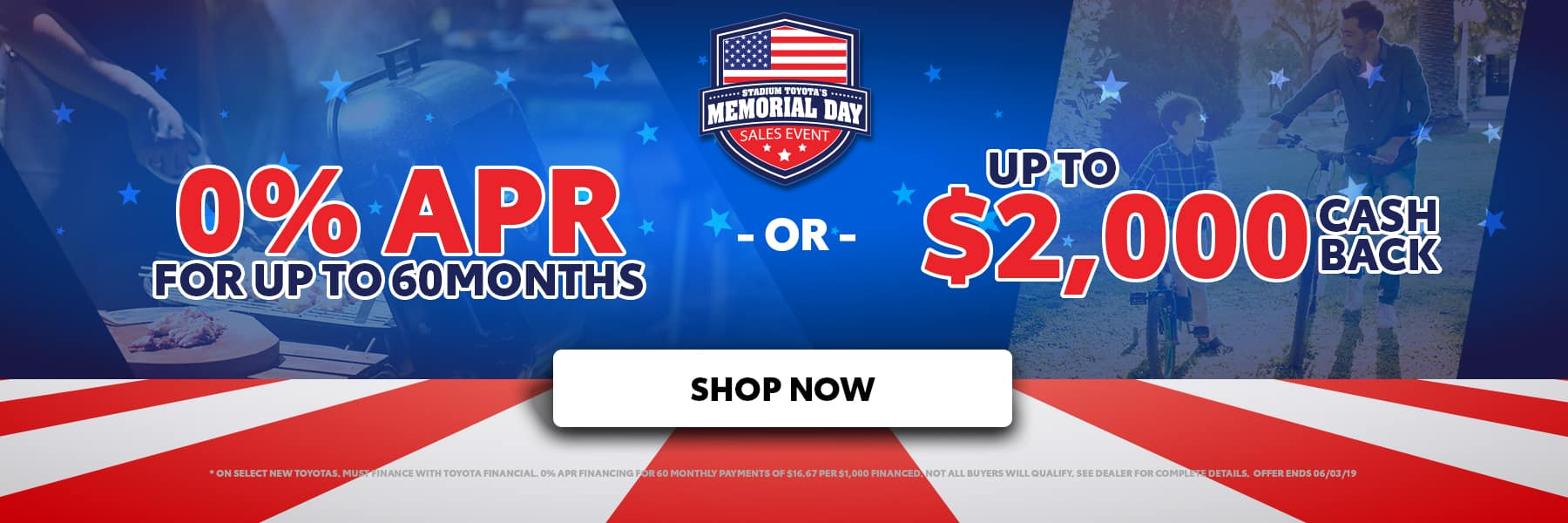 Memorial Day Special Offer