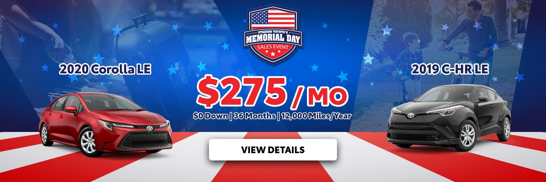 Memorial Day Offer Corolla C-HR