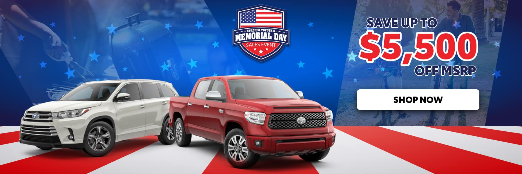 Memorial Day Up To $5500 Off MSRP